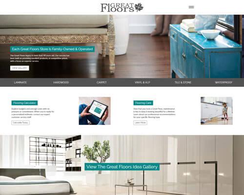 Great Floors Canada's Website