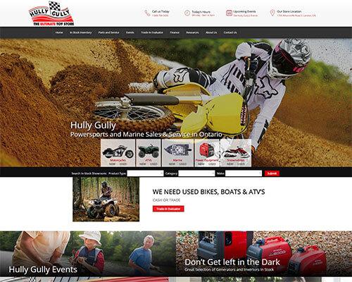 Hully Gully's Website