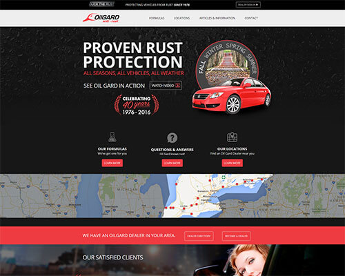 Oil Gard Anti-Rust's Website
