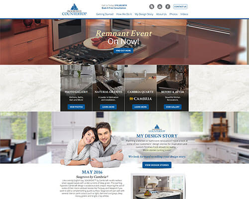 Progressive Countertop's Website