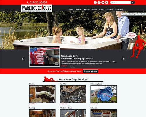 Warehouse Guys's Website