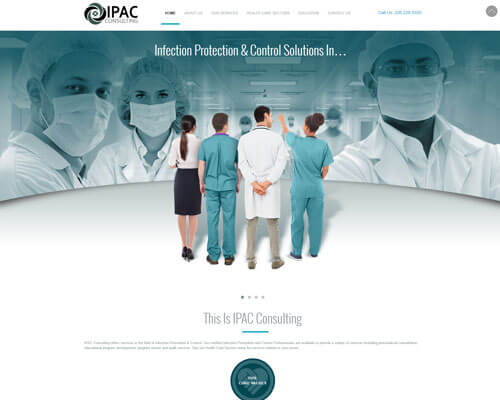 IPAC Consulting's Website