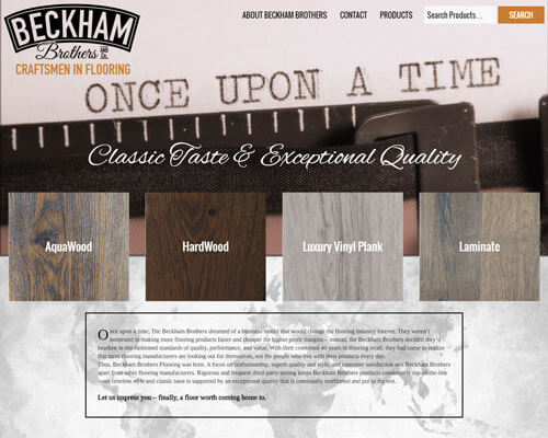Beckham Brothers 's Website