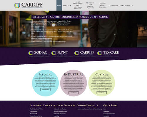 Carriff EFC's Website