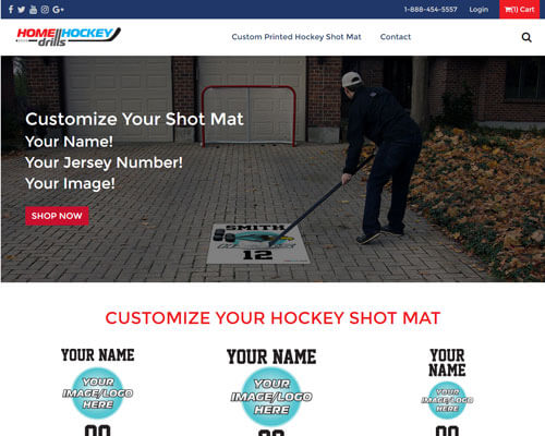 Home Hockey Drills's Website