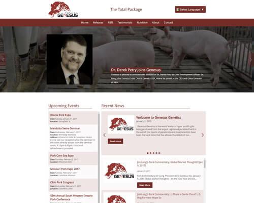 Genesus Inc's Website