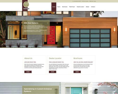 MDL Door Systems's Website