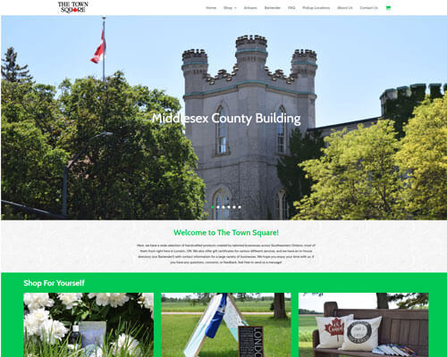 The Town Square's Website