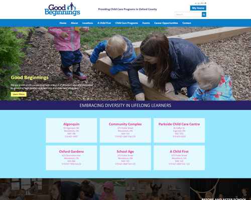 Good Beginnings's Website