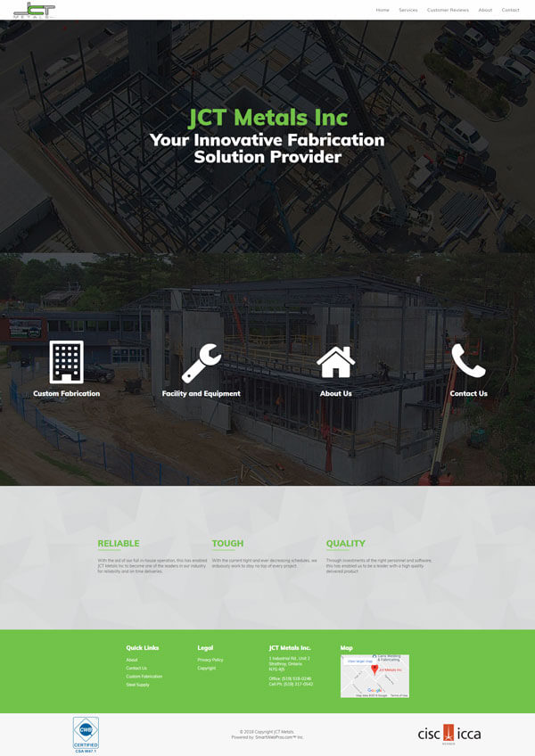 JCT Metals Inc
