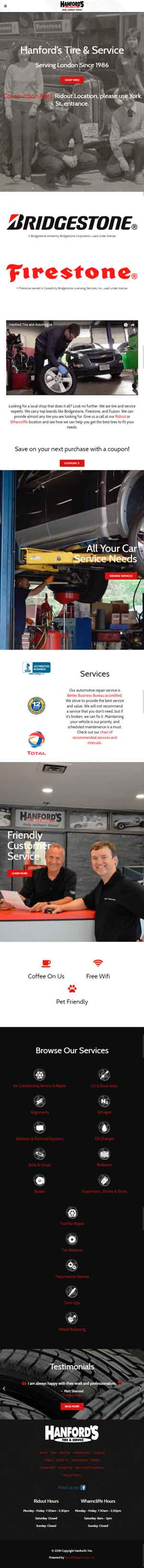 Hanford's Tire & Service