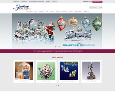 Gallery Marketing Group Web Design