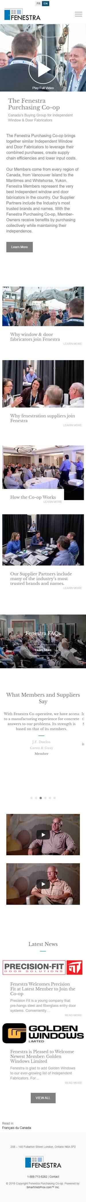 Fenestra Purchasing Co-op