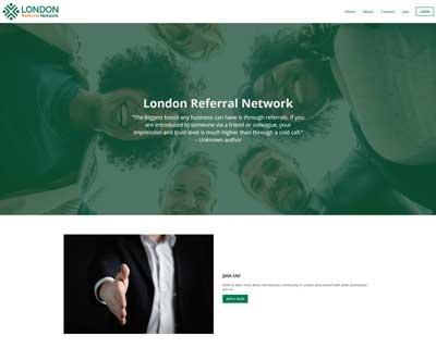 London Referral Network Website