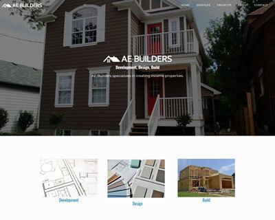 AE Builders Website