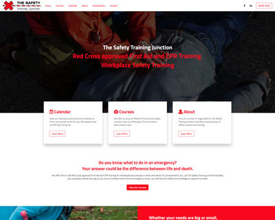 First Aid Training Junction Website