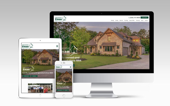 Finan Home Service Responsive Website Design