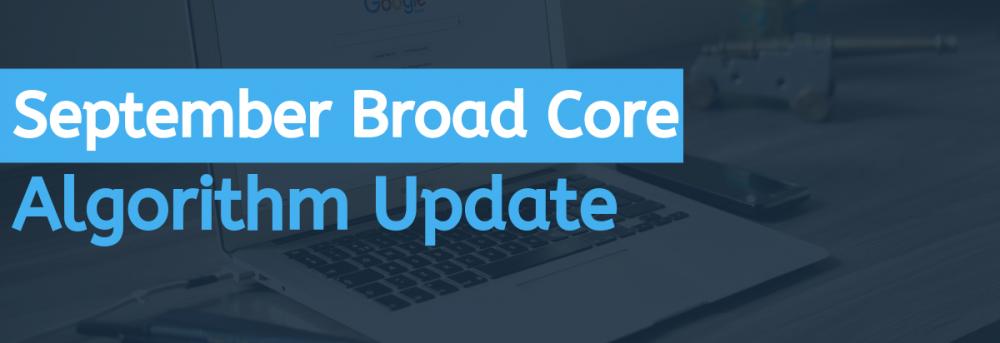 September 2019 broad core algorithm update