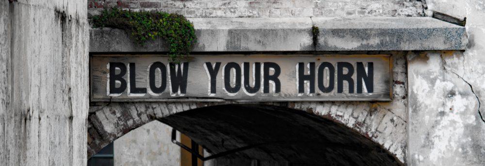blow your website horn