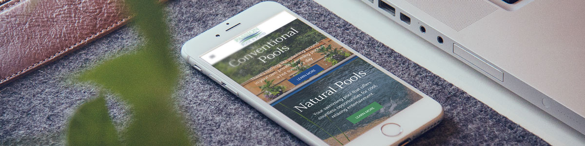 Passion Pool Mobile Responsive Website Development